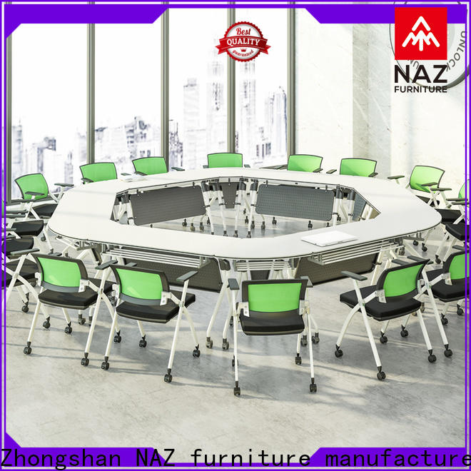 NAZ furniture movable meeting room table manufacturer for school