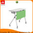 trapezoid boardroom training table metal for conference for school