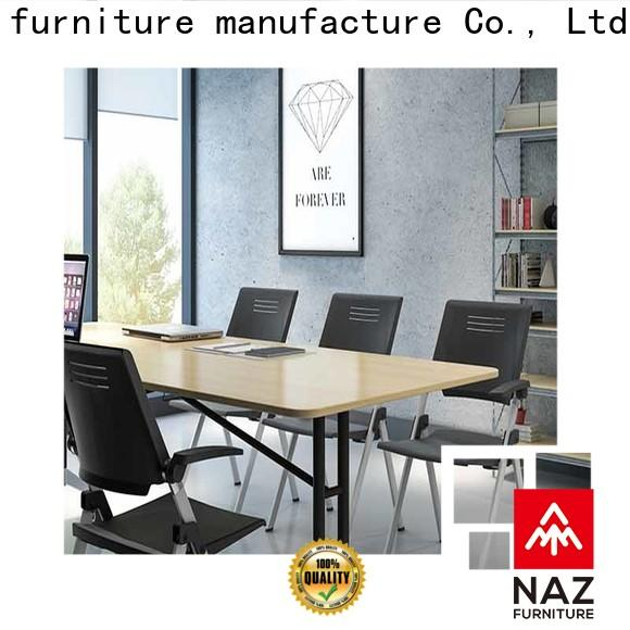 NAZ furniture professional folding conference tables on wheels
