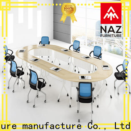 NAZ furniture ft015c folding conference room tables with wheels manufacturer for school