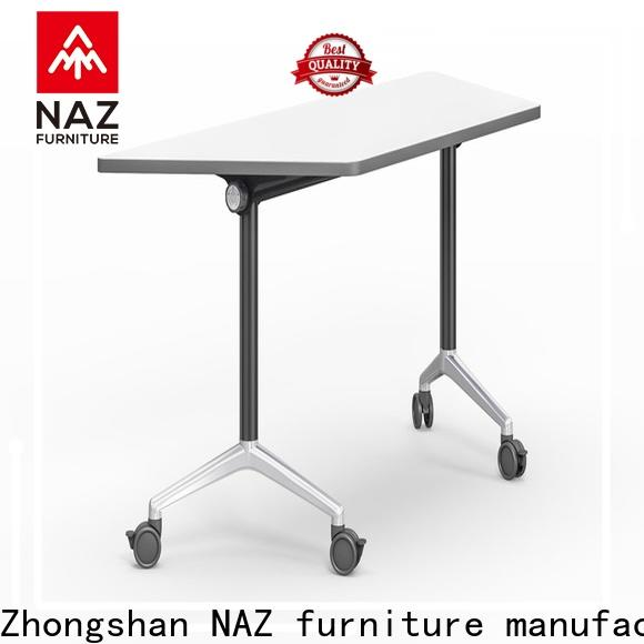 NAZ furniture folding computer training tables supply for meeting room