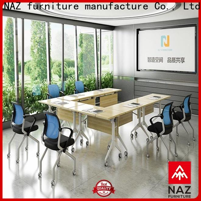NAZ furniture unique mobile conference table on wheels for office