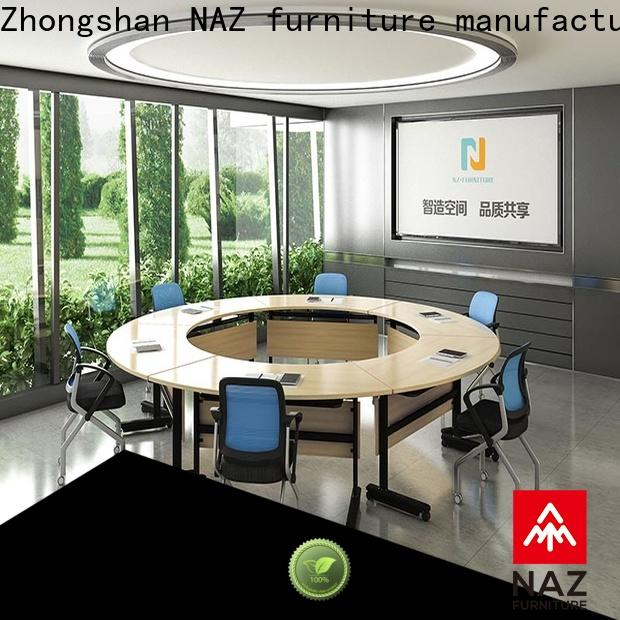 NAZ furniture comfortable portable conference room tables manufacturer for training room