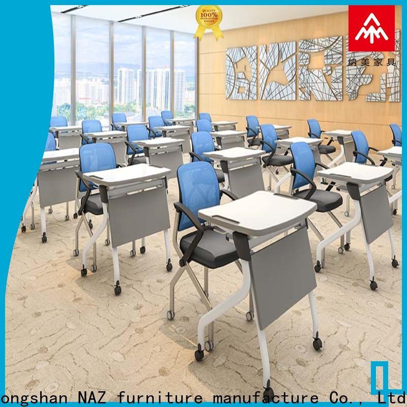 NAZ furniture folding folding student desk wholesale for training rooms