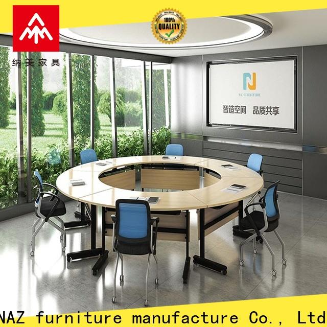 movable oval conference table ft003c for conference for office