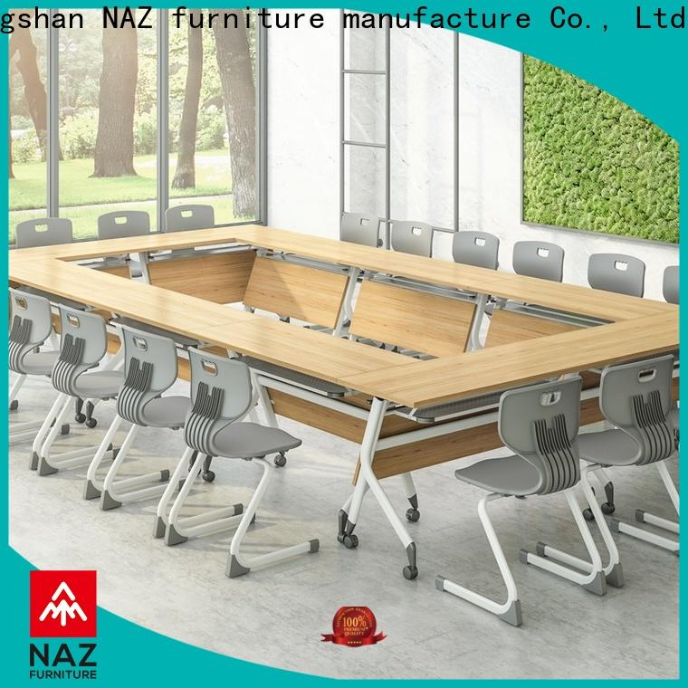 NAZ furniture ft010c flip top conference tables on wheels