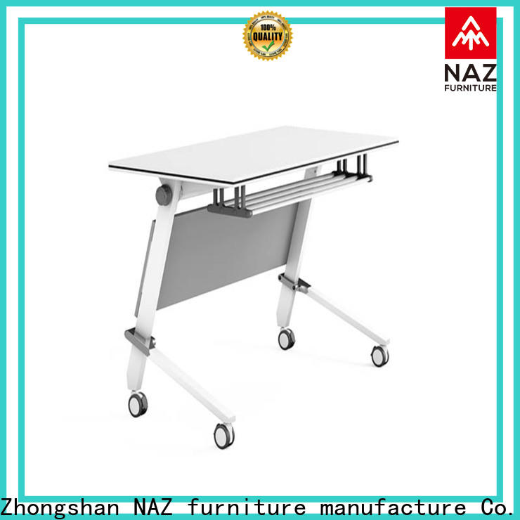 NAZ furniture ft011 office training tables with wheels for meeting room