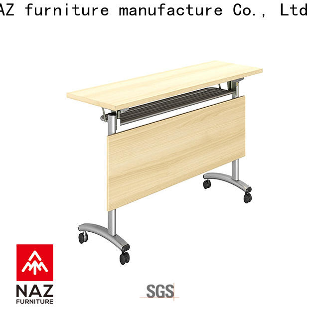 NAZ furniture save flip top training tables with wheels for school