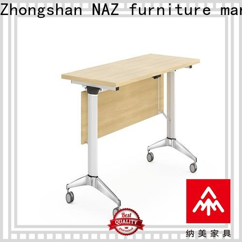 NAZ furniture ft015 modular training room furniture with wheels for school
