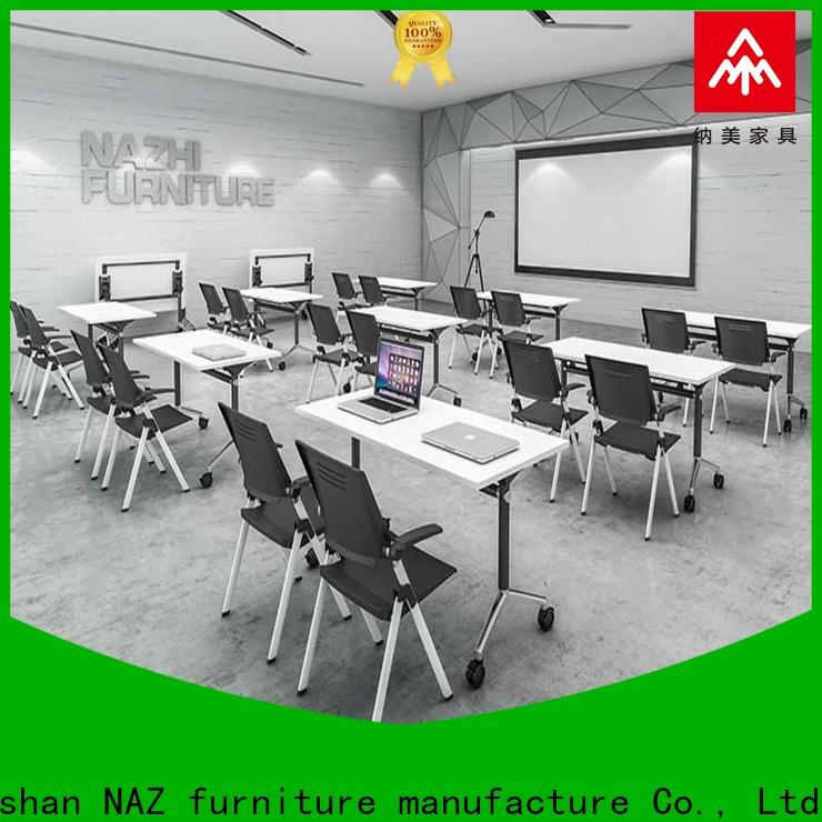 movable office conference room table end manufacturer for school