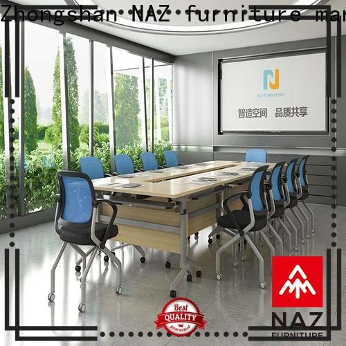 NAZ furniture conference conference room tables folding on wheels for training room