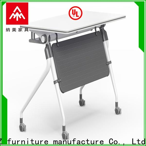 trapezoid modular training room furniture mobile for conference for office
