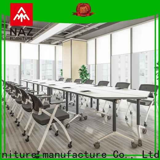 NAZ furniture ft031c foldable office furniture manufacturer for school