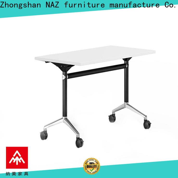 NAZ furniture trapezoid office training tables for conference for training room