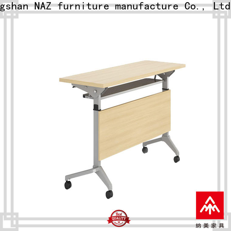 NAZ furniture trapezoid conference training tables for sale for home