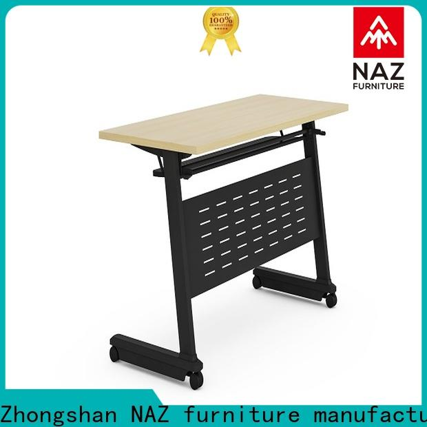 NAZ furniture writing aluminum training table for conference for school