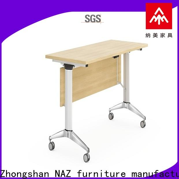 NAZ furniture computer flip top training tables for conference