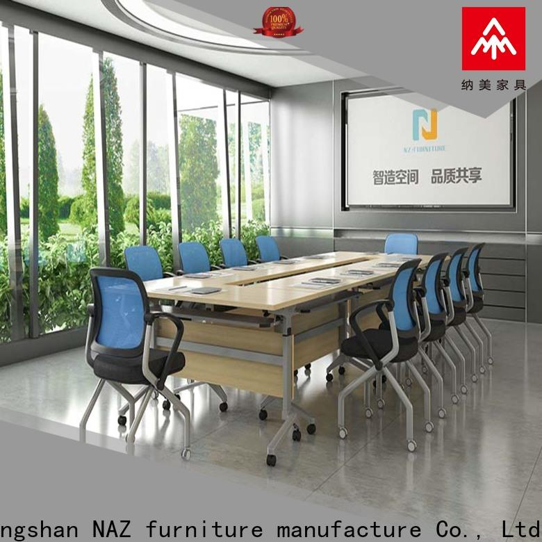 professional flip top conference tables aluminum manufacturer for training room