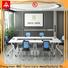 NAZ furniture modern mobile conference table on wheels for meeting room