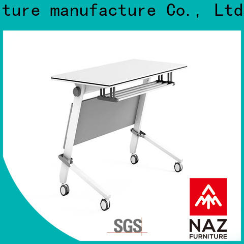 NAZ furniture trapezoid modular training room furniture for conference for school