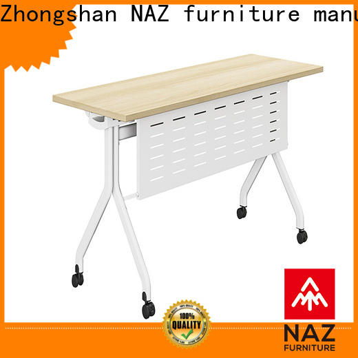 NAZ furniture 8001200140016001800mm mobile training tables for sale for school