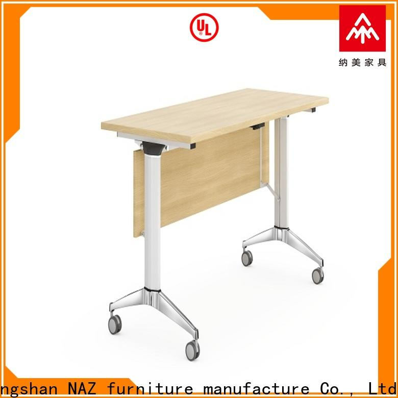 writing aluminum training table office supply