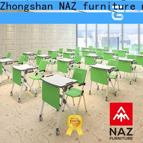 NAZ furniture comfortable training table frame factory for school