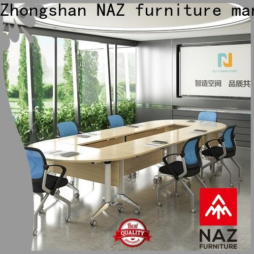 NAZ furniture comfortable mobile conference table for sale for office
