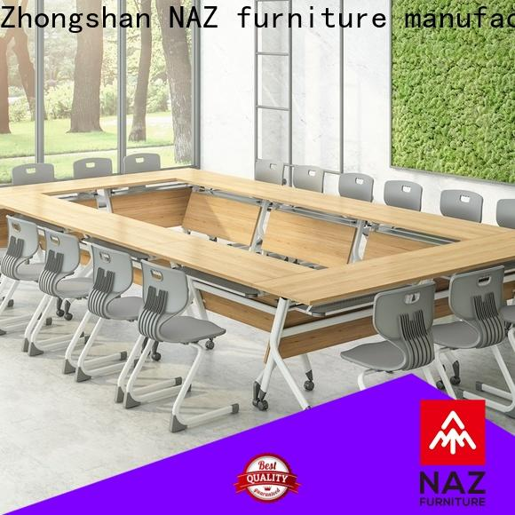 movable boardroom table nesting for sale for training room