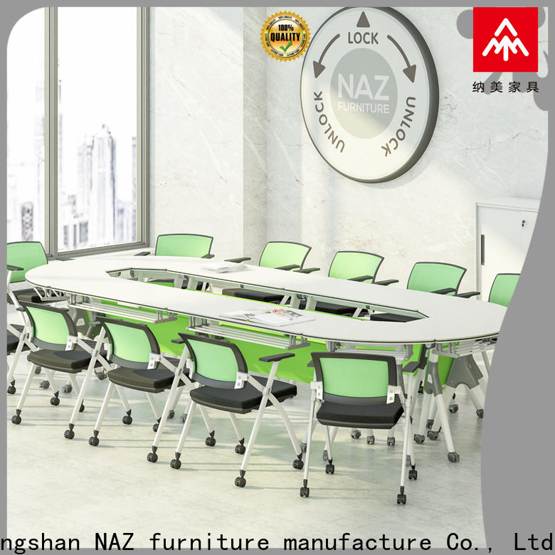 NAZ furniture durable modular conference room tables for sale for school