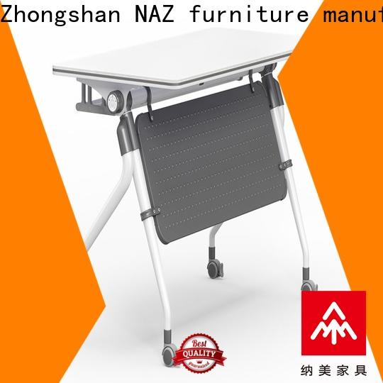 NAZ furniture ft012 training tables with wheels for conference for school