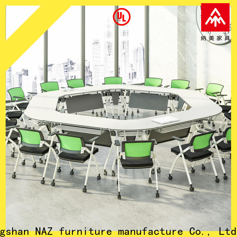 durable foldable office furniture nesting for sale for training room