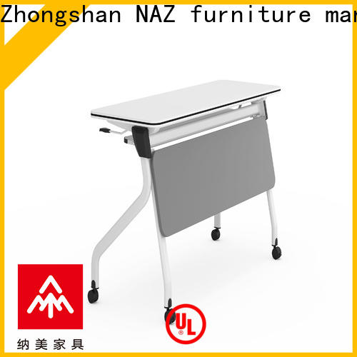 NAZ furniture alloy training table supply for meeting room