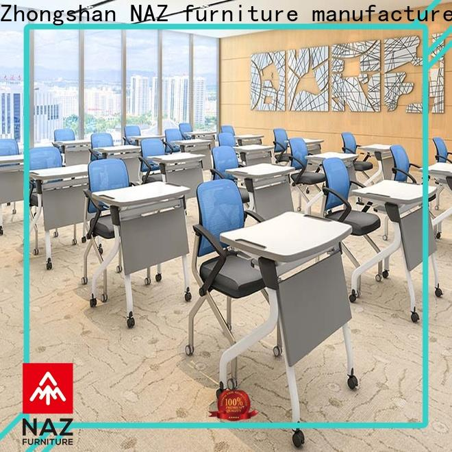 NAZ furniture movable classroom training tables factory for office