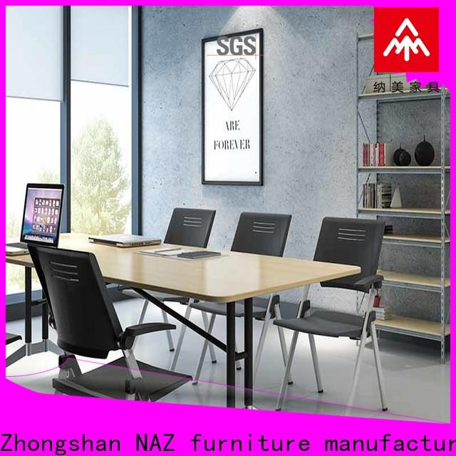 NAZ furniture movable conference table and chairs for conference for meeting room