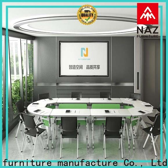 NAZ furniture versatility 12 conference table on wheels for meeting room