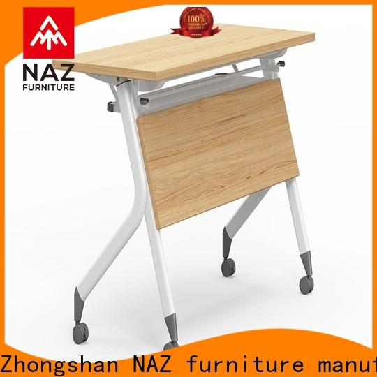 NAZ furniture computer mobile training tables with wheels for home