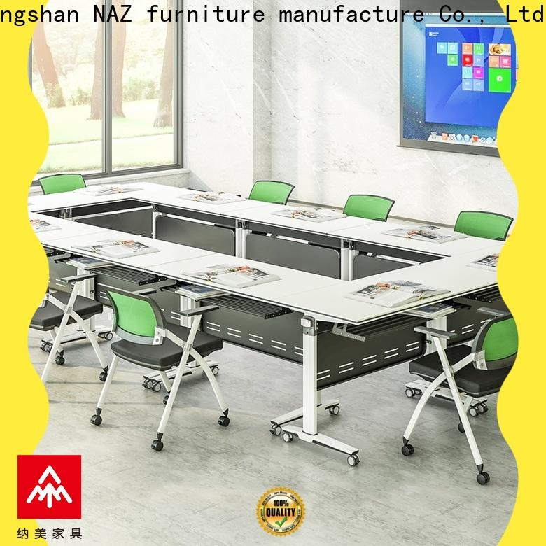 comfortable u shaped conference table aluminum for conference for training room