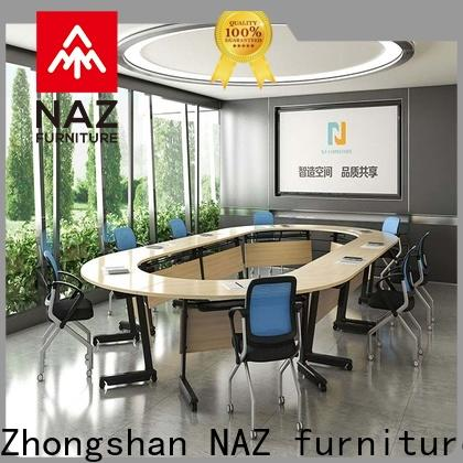 NAZ furniture movable conference room furniture on wheels for school