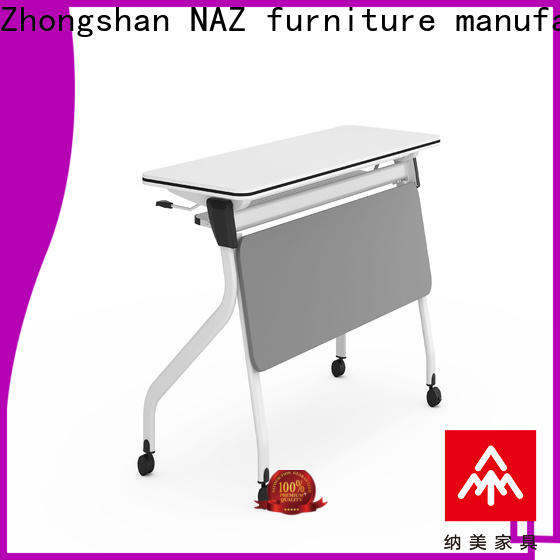NAZ furniture trapezoid training table design for conference for training room
