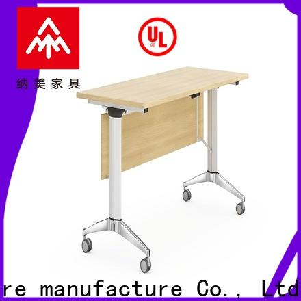 NAZ furniture trapezoid training room desks supply for meeting room
