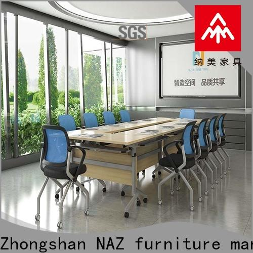 NAZ furniture alloy foldable office furniture for sale for meeting room