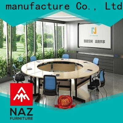 NAZ furniture modern square conference table on wheels for meeting room