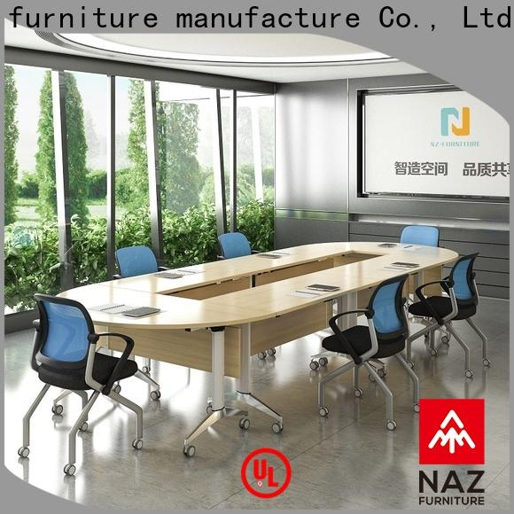 NAZ furniture movable conference room tables folding for conference for meeting room