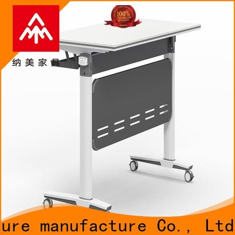 writing folding training table metal supply for school