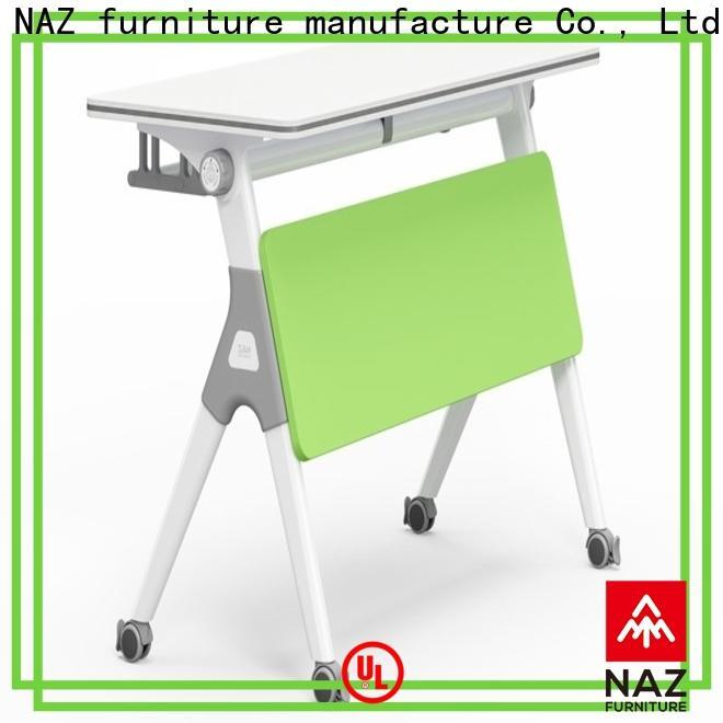 NAZ furniture trapezoid training table design multi purpose