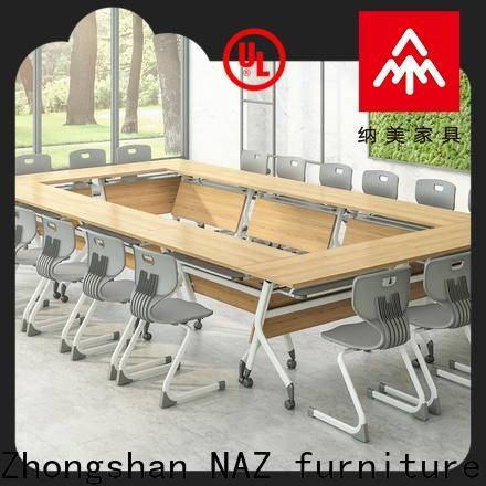 NAZ furniture comfortable mobile conference table manufacturer for training room