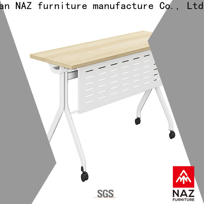 NAZ furniture writing training room tables and chairs for conference for school