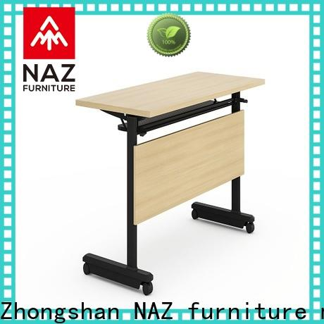 NAZ furniture office training tables with wheels for conference for school