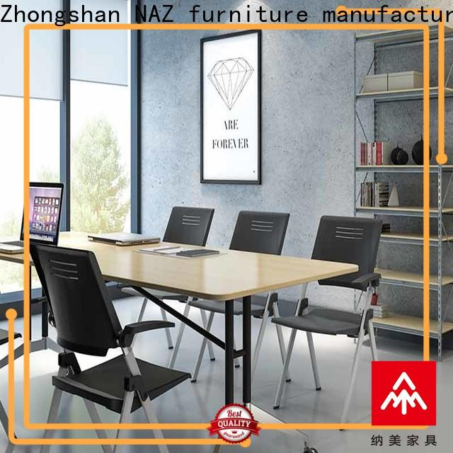 NAZ furniture professional square conference table manufacturer for school